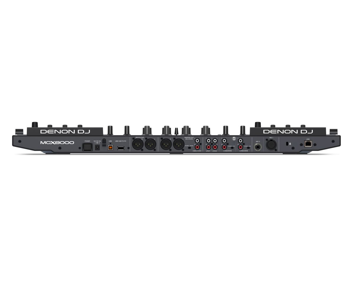 Denon MCX8000 - Anschlüsse