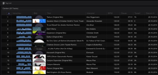 Rekordbox - Browser