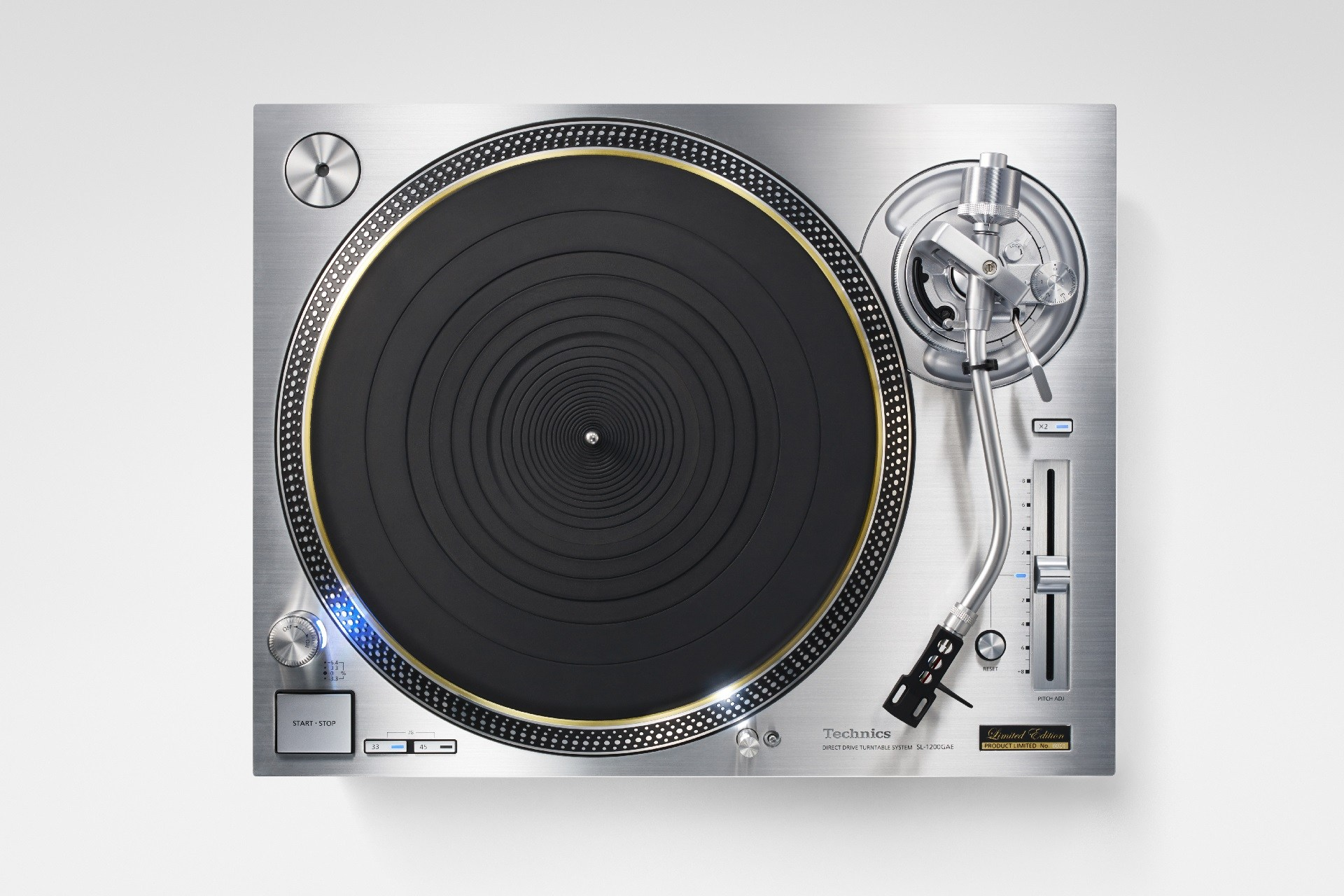 High End: Technics SL 1200-GAE