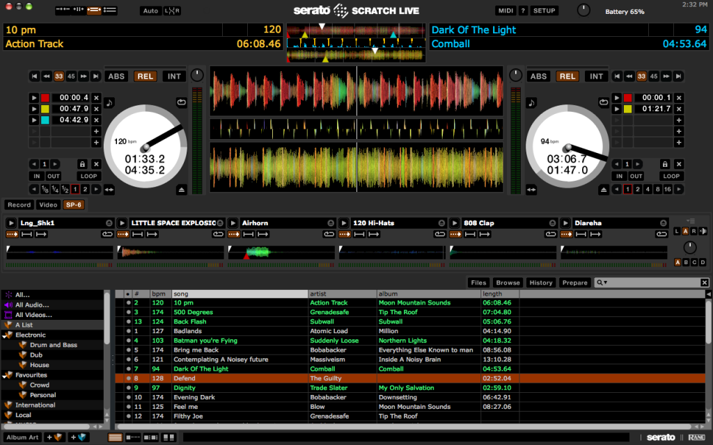 Serato Scratch Live 2.4.4 Screenshot