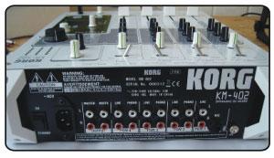 KM402 Rückseite