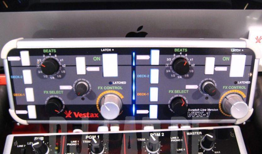 Update: Vestax VFX-1 als Effekt-Controller für Serato Scratch Live