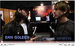 Ean Golden interviewt  Richie Hawtin während Namm Show 2011 (Thema: die Zukunft des Digitalen Djing)