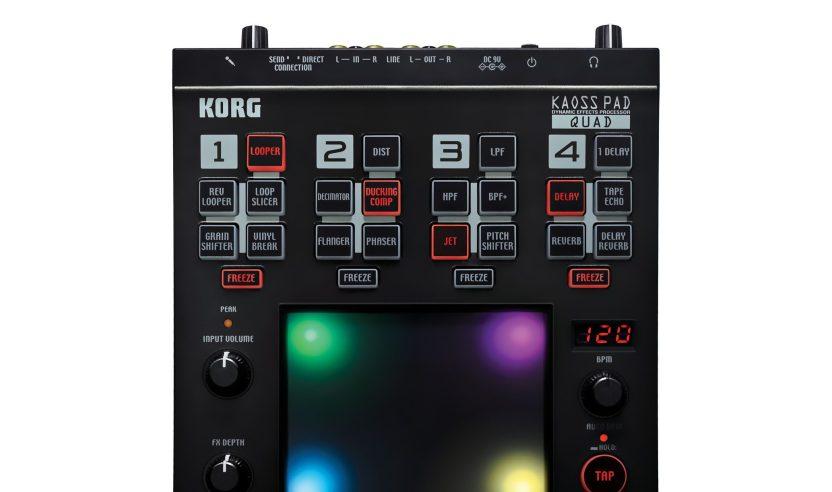 Korg Kaoss Pad Quad Multi-Effektgerät (NAMM 2011)