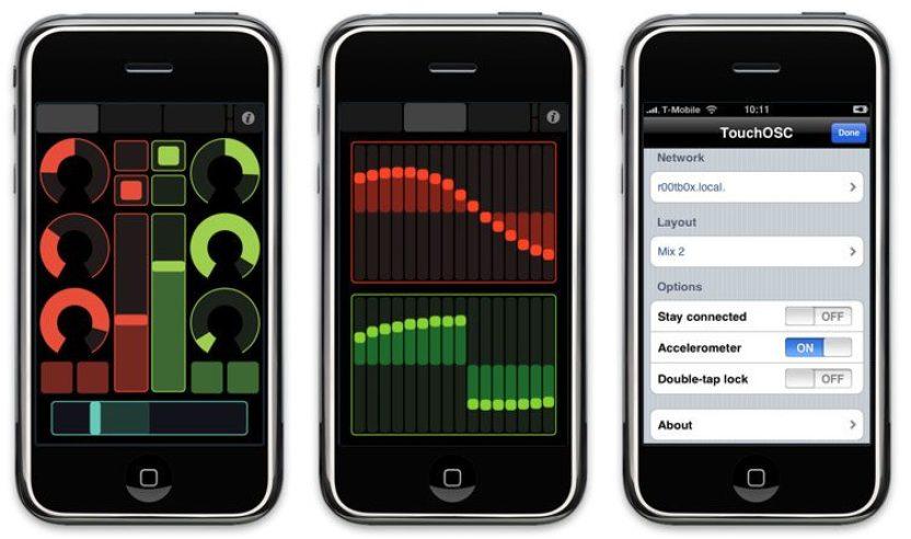 Fernsteuern von Traktor DJ Studio mit einem I Phone per Touch OSC und Osculator!