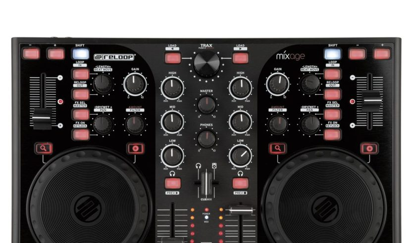 Reloop Mixage, der neue Einsteiger Controller kommt im Mai in die Läden