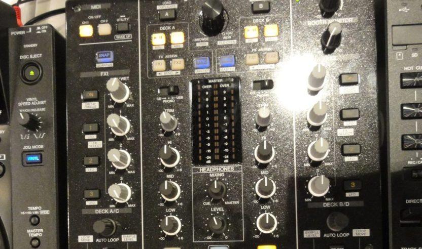 Neuer Battlemixer von Pioneer: DJM-T1 Musikmesse 2011