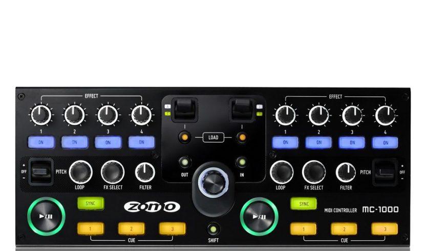 Update: Messeneuheit 2011- Zomo MC-1000 DJ-Controller