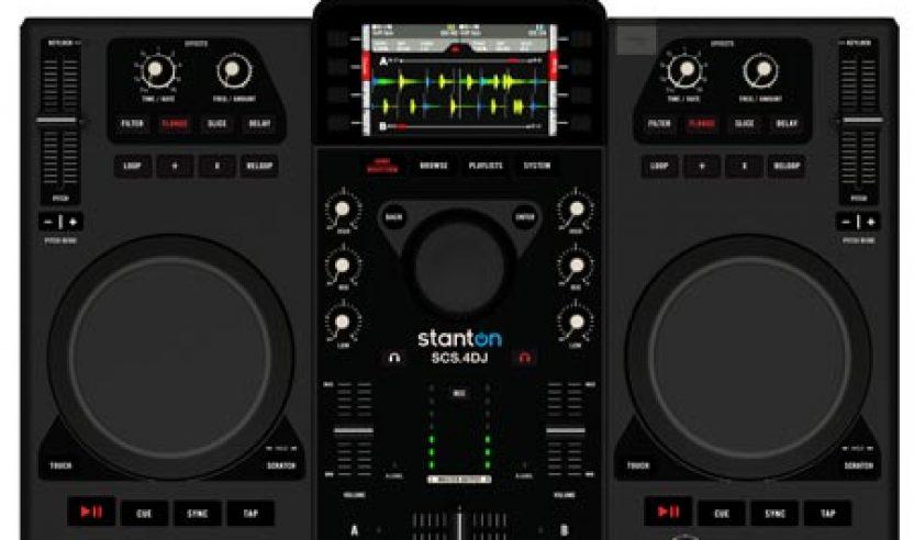 Stanton SCS4 DJ demo by B Side @ Musikmesse 2011