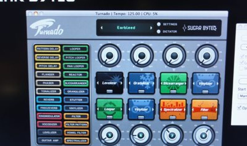 Video: Turnado Effekt Plugin von Sugar Bytes Musikmesse 2011