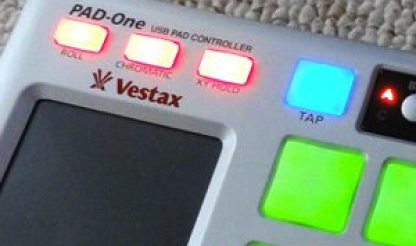 Vestax Pad-One: Eisenharter Pad-Controller