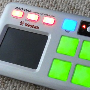 Vestax Pad-One: Eisenharter Pad-Controller