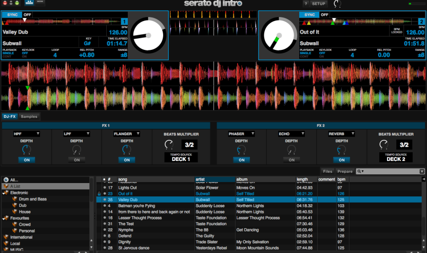 "Neu: Serato Software ""DJ Intro"""