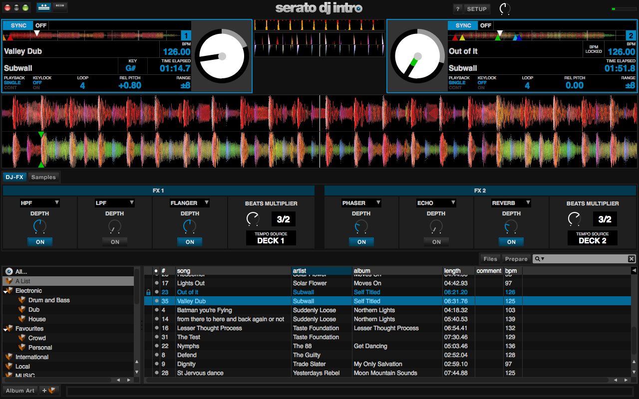 "Neu: Serato Software ""DJ Intro"""