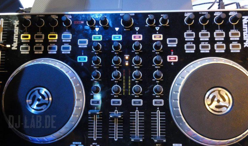 Neu: Numark N4 Controller, BPM-Show 2011