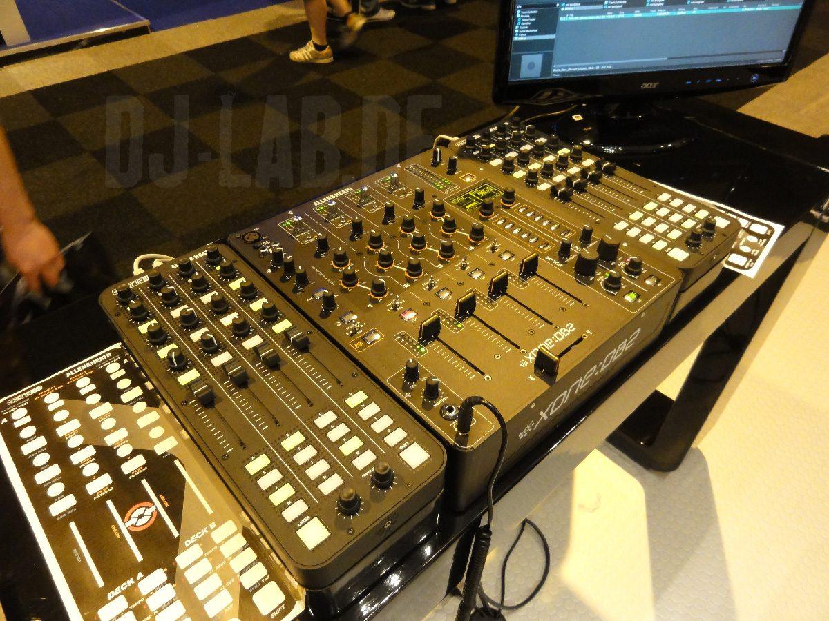 Neu: Allen & Heath Xone DB2 und K2, BPM-Show 2011