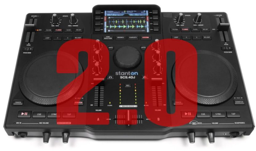 Stanton SCS-4DJ Update 2.0 & Quickgrid