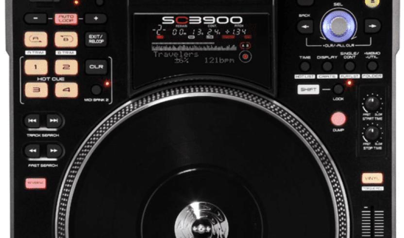 Denon DJ SC3900, motorisiertes Mediaplayer SchlachtschiffDenon DJ SC3900 - flagship mediaplayer