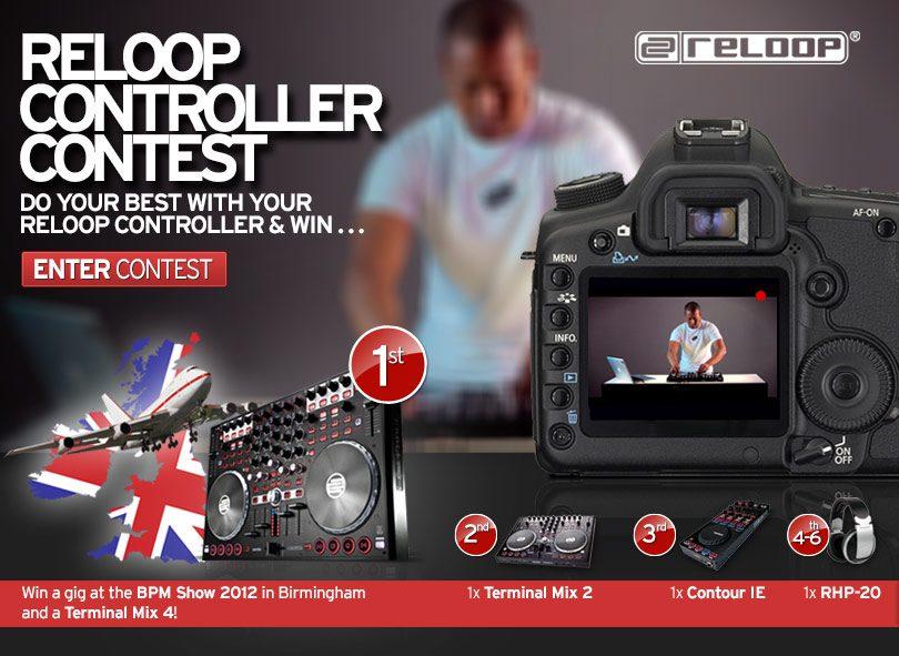 Reloop Controller Contest: Gewinne einen Gig auf der BPM-Show!