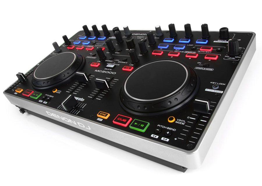 Denon MC-2000 – Einsteiger DJ-Controller für Serato DJ IntroDenon MC-2000 – Entrylevel DJ-Controller for Serato DJ Intro