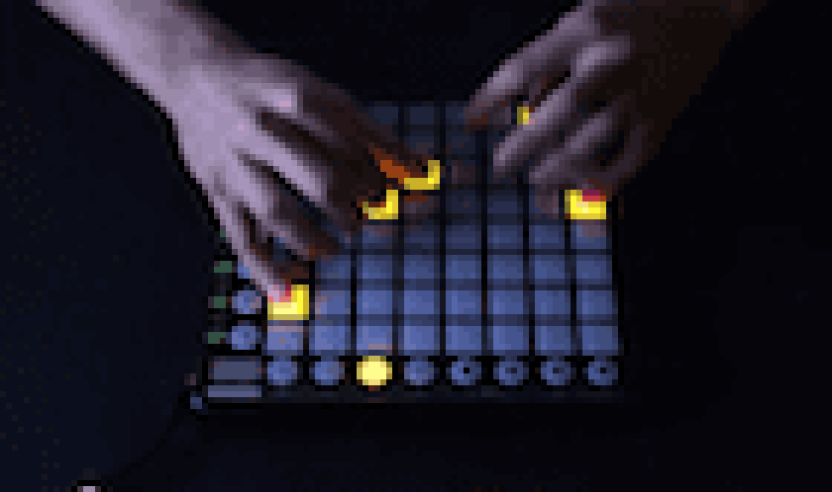 Video: M4SONIC performt ein Live Mashup auf Novation's Launch Pad