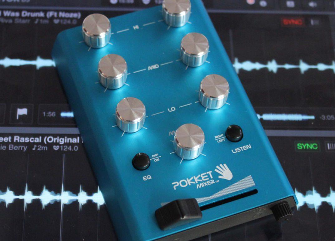 Test: POKKETMIXER – ein mobiles und passives stereo Mini DJ-MischpultReview: Pokketmixer – passive mobile mini-mixer