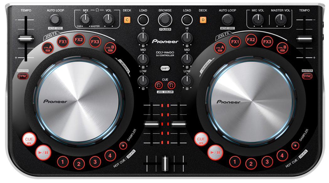 Pioneer DDJ WEGO - Neuer Einsteiger DJ-ControllerPioneer DDJ WEGO - New Entrylevel DJ-Controller