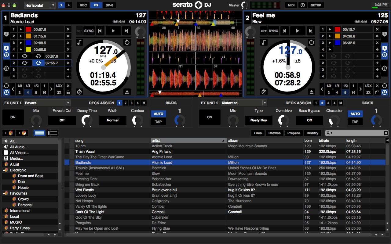 Serato DJ: Screenshots und erste Eindrücke der neuen Controller-SoftwareSerato DJ Screenshots - First impressions of the new Serato DJ software