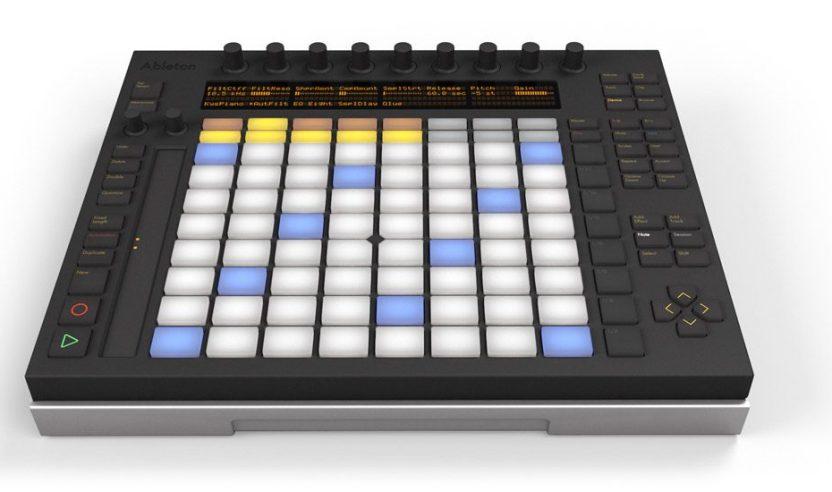 Neu: Ableton Live 9 und Ableton Push-ControllerNew: Ableton Live 9 and Push-Controller