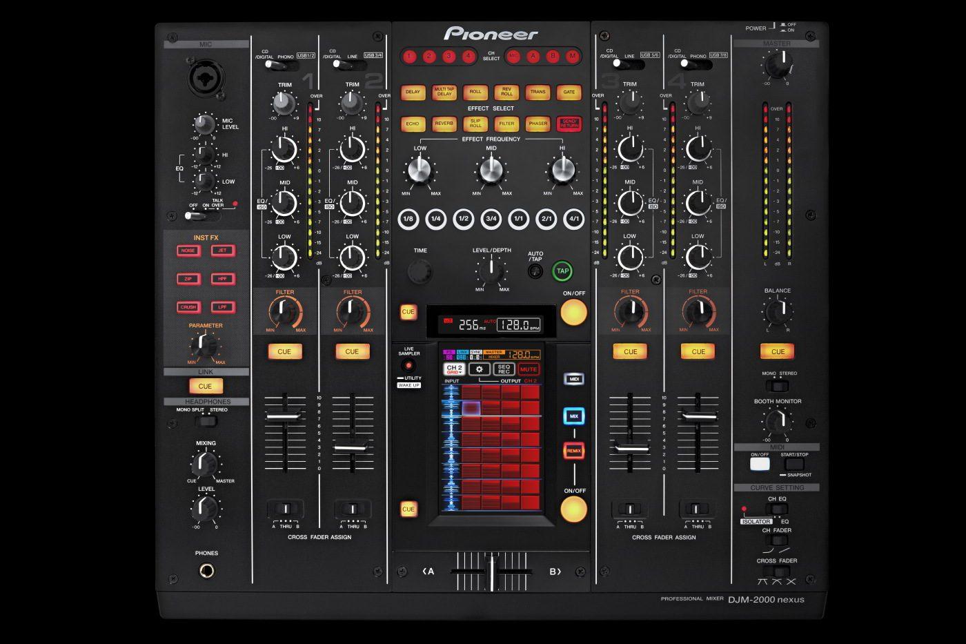 Neu: Pioneer DJM-2000 Nexus - Update eines SchlachtschiffesNew Pioneer DJM-2000 Nexus - Flagship Updated