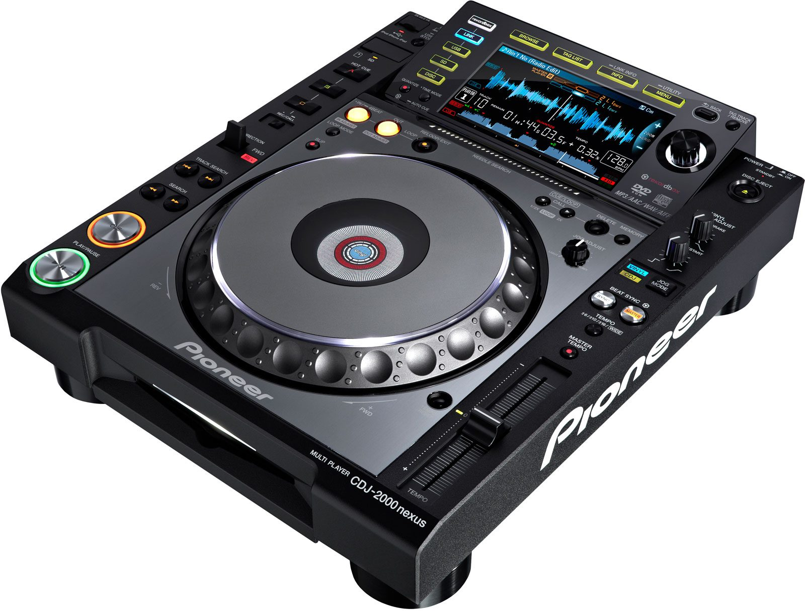 Test: Pioneer CDJ-2000 nexus – Alles wissenswerte über den neuen MediaplayerReview: Pioneer CDJ-2000 nexus  Everything you need to know about the new mediaplayer
