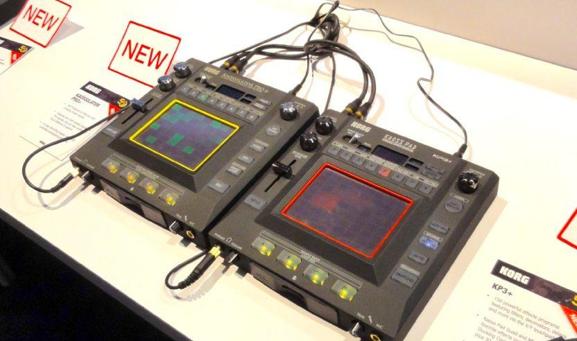 NAMM 2013: Korg Kaossilator Pro+ & Korg Kaosspad 3+NAMM 2013: Korg Kaossilator Pro+ & Korg Kaosspad 3+