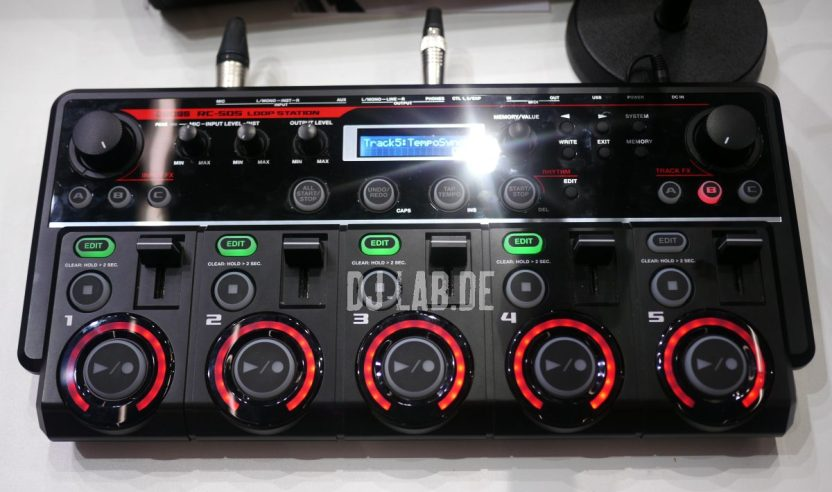 Boss RC-505 Loopstation, Musikmesse 2013