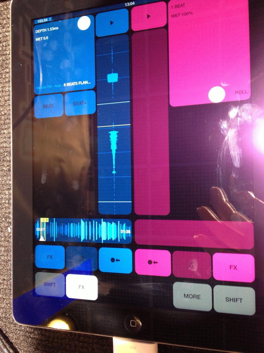 DJ-Player 6 Beta für iPad und iPhone: Erste Eindrücke von der App mit Timecodeunterstützung, Musikmesse 2013