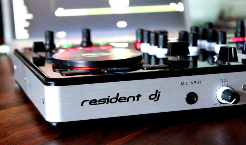 Test: Resident DJ Kontrol 3 - 2-Deck DJ-Controller inkl. Virtual DJReview: Resident DJ Kontrol 3 - 2-Deck DJ-Controller incl. Virtual DJ