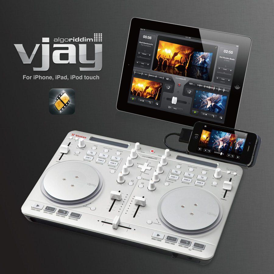 Algoriddim VJay - Die Videomixing App fürs iPhone und iPad jetzt eine Woche lang kostenlos zum Download