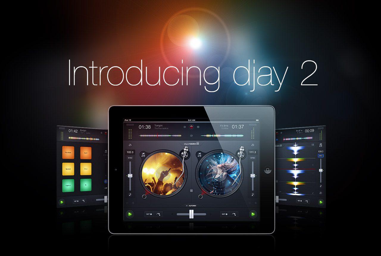 Neu: Algoriddim djay 2 für das iPad und iPhoneNew: Algoriddim djay 2 for iPad and iPhone
