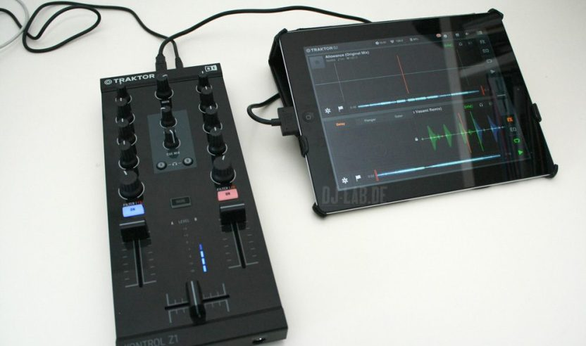 Test: Native Instruments Traktor Kontrol Z1 - Modularer Mix-Controller mit Audio-InterfaceReview: Native Instruments Traktor Kontrol Z1 - modular mix-controller with audio-interface