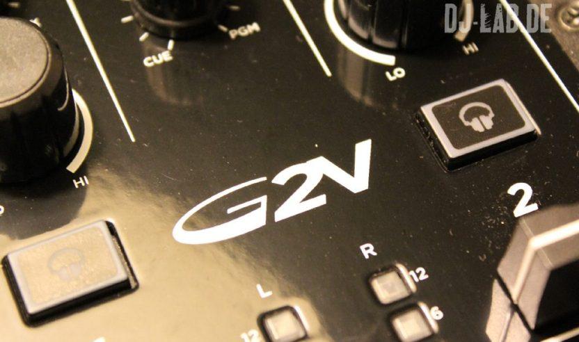 Kurztest: Gemini G2V - 2-Kanal DJ-Controller inkl. Virtual DJ LEReview: Gemini G2V - 2-channel DJ-Controller incl. Virtual DJ LE