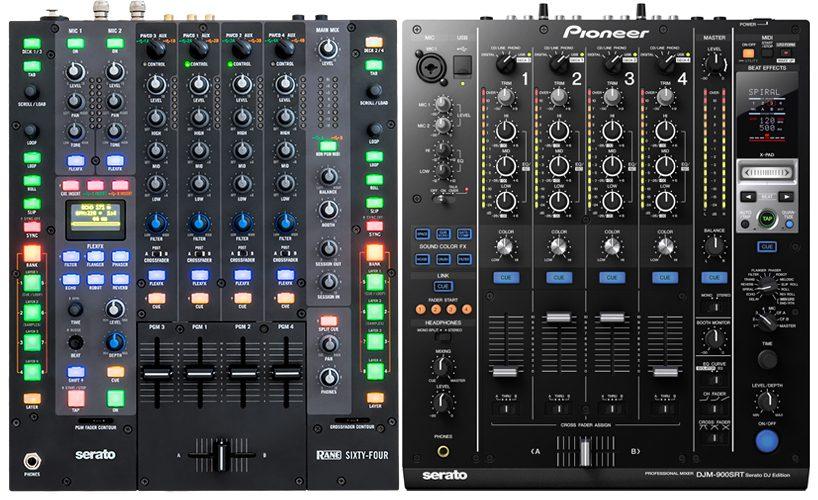 Neue Serato DJ Clubmixer: Pioneer DJM-900SRT vs Rane Sixty Four – Wo liegen die Unterschiede?