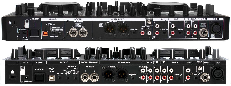 MC-6000MK2 vs MC-6000 (Rückansicht)