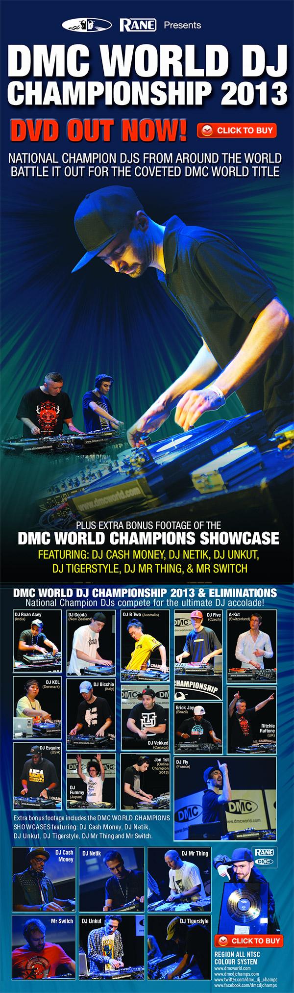 DVD Tipp: DMC World DJ Championship 2013 und World Eliminations