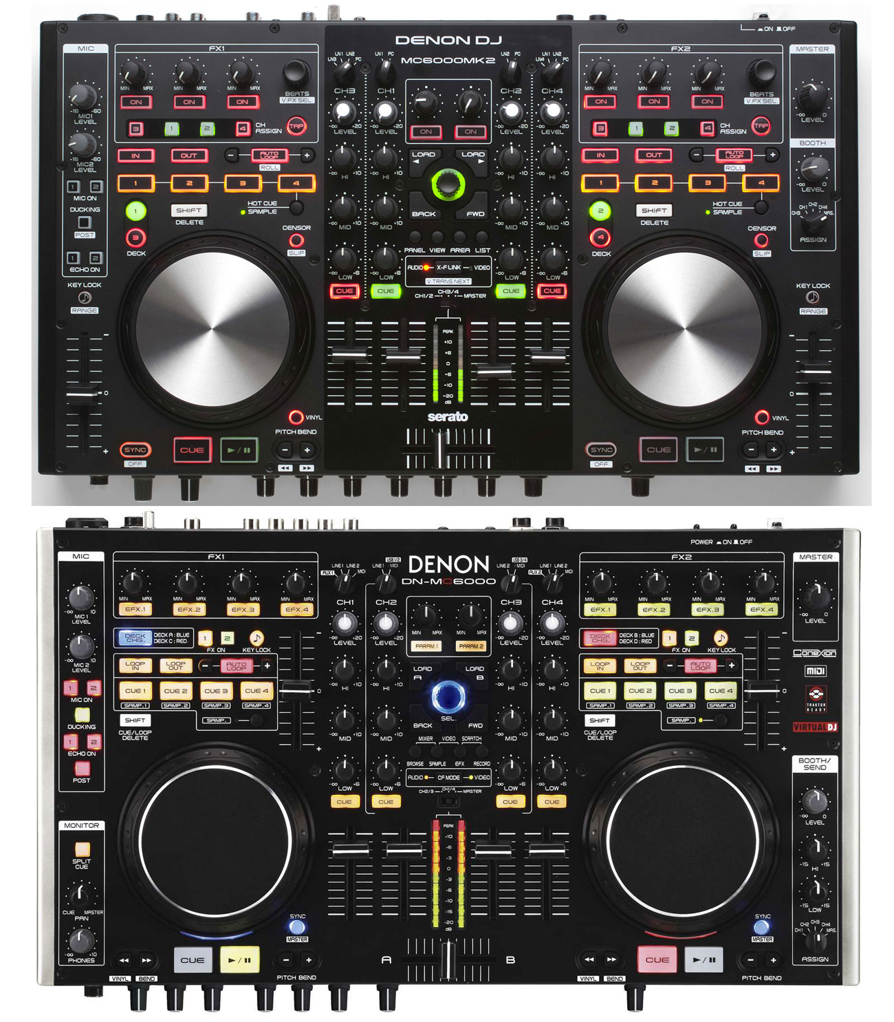MC-6000MK2 vs MC-6000