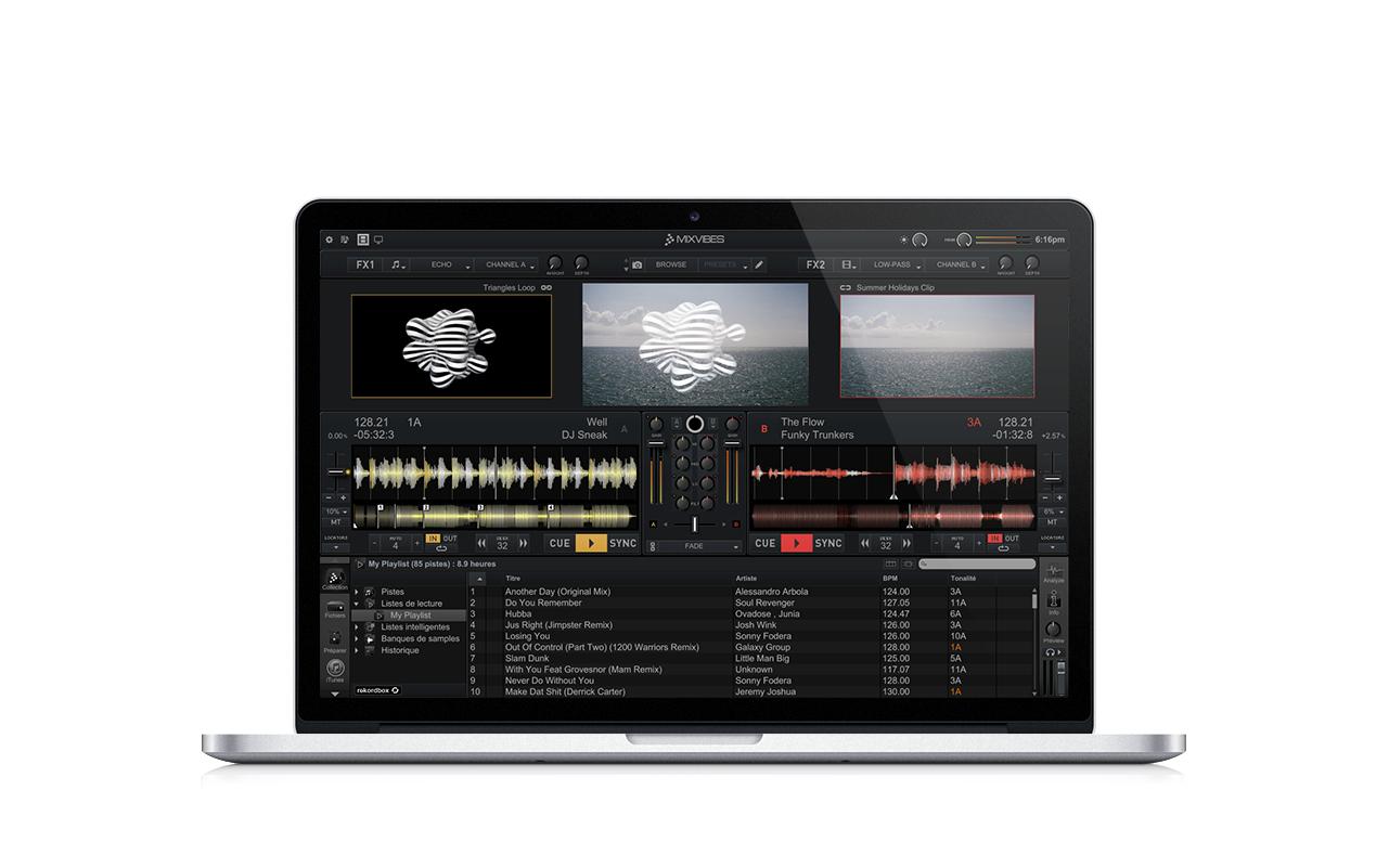 Neu: Mixvibes Cross 3.0 - DJing, Video und mehr