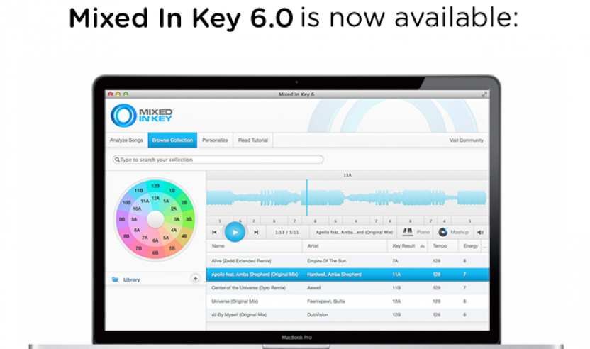 Update: Software Mixed in Key Version 6.0Update: Software Mixed in Key Version 6.0