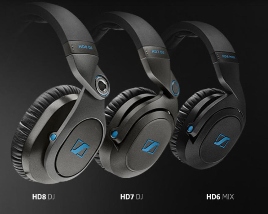 Neue Sennheiser DJ-Kopfhörer Modelle - HD8 DJ, HD7 DJ und HD6 MIXNew Sennheiser dj-headphones - HD8 DJ, HD7 DJ und HD6 MIX