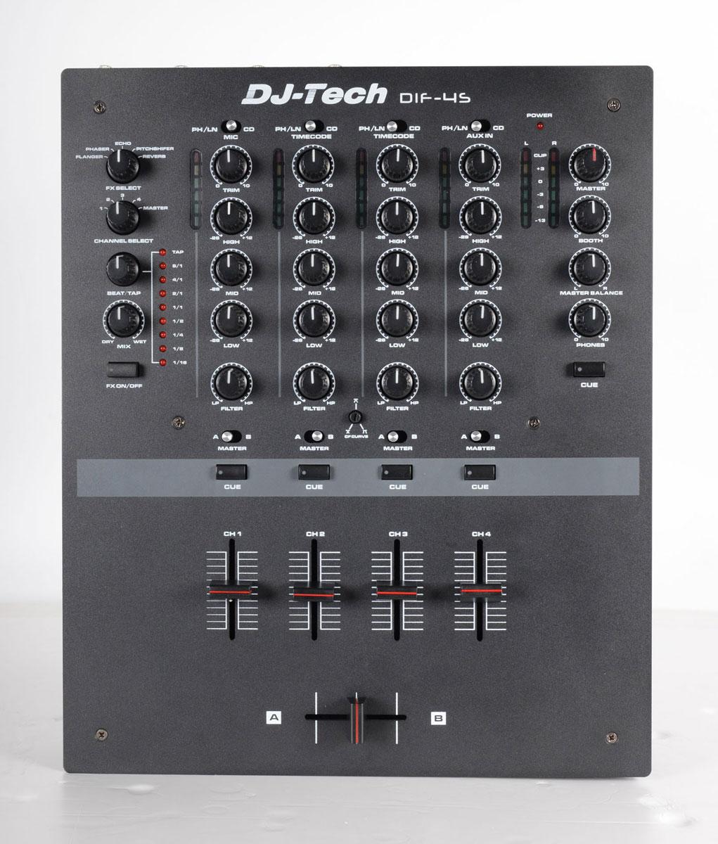 NAMM 2014: DJ Tech DIF-4S - 4-Kanal Scratchmixer