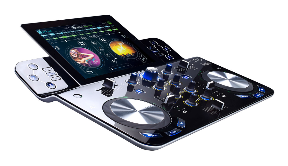 Neu: Hercules DJControlWave - Kabelloser iPad-Controller
