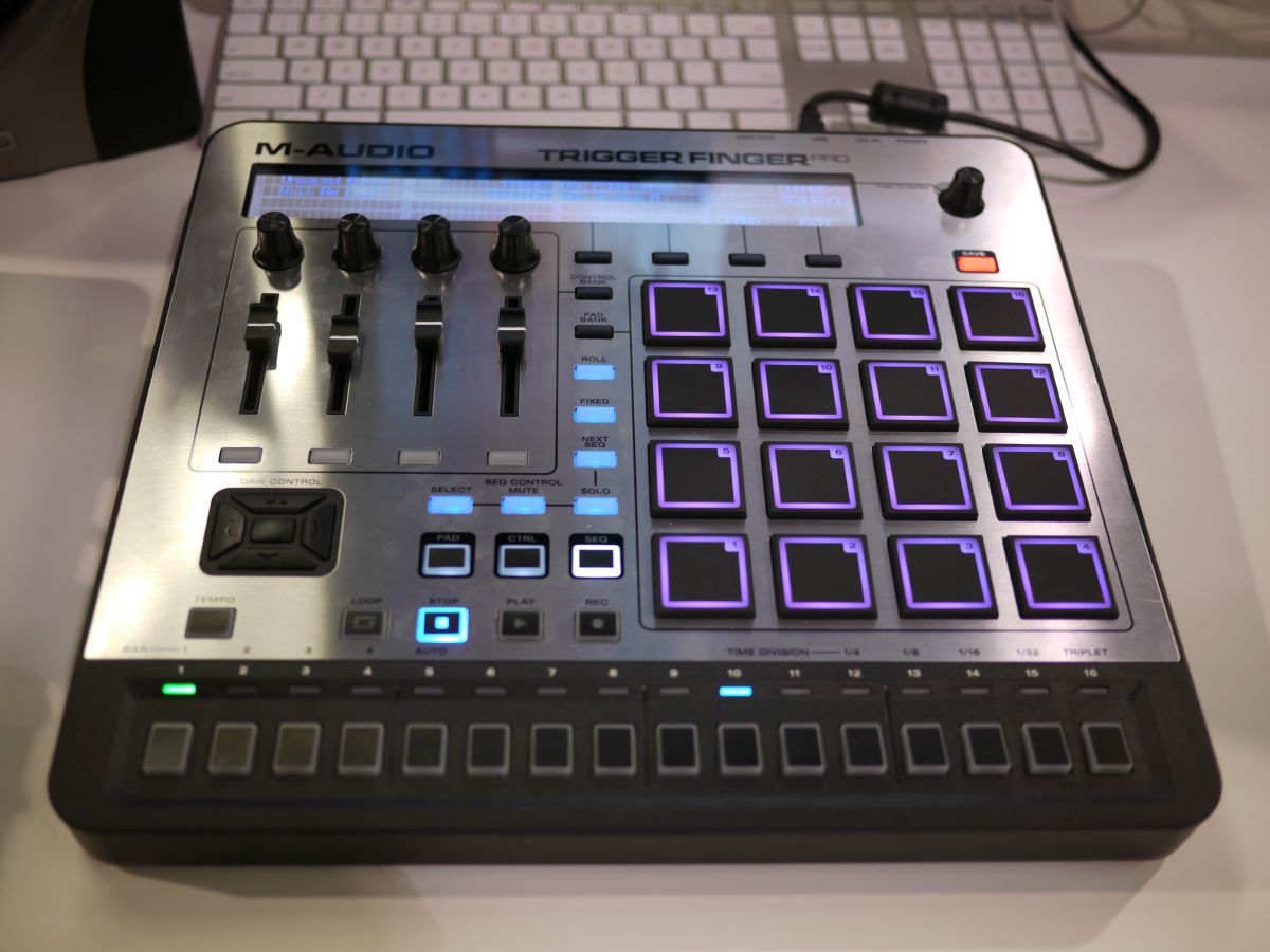 NAMM 2014: M-Audio Trigger Finger Pro - Padcontroller und Stepsequencer