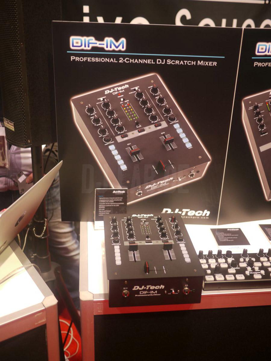 NAMM 2014: DJ Tech DIF-1M – MIDI-Scratchmixer für kleines Geld